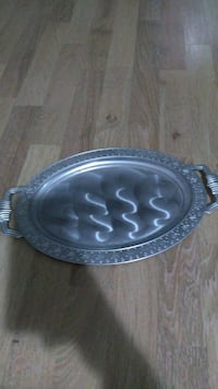 Oval Metal tepsi Bursa