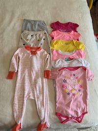 6-9 month baby girl clothing lot Fairfax, 22030