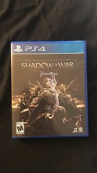 ps4 shadow of war game Bend, 97701