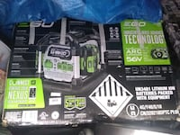 Brand New Ego ..generator / power inverter  with 2 extra batteries