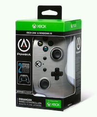PowerA - Enhanced Wired Controller for Xbox One - Brushed Aluminum Toronto, M6M 2N2