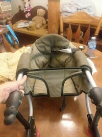 Chicco screw on high chair
