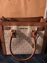 brown and gray Michael Kors leather tote bag Whittier, 90605