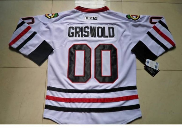 buy popular 25b60 91300 Mens Clark Griswold #00 Christmas Vacation Movie Hockey Jersey
