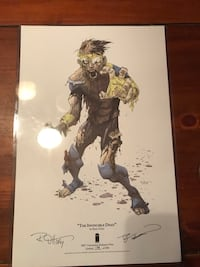 """The Invincible Dead"" Limited, Numbered, Signed Print Loranger, 70446"