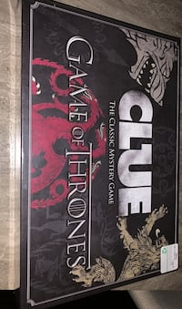 Game of thrones Clue *sealed* Edmonton, T5Z 2P2