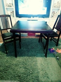 5pc card table and chairs good cond. Rutledge, 37861