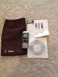 Philips Voice Tracer Digital Recorder with Dragon Speech Recognition
