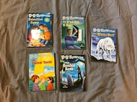5 A to Z Mysteries Kids Books by Ron Roy Loomis, 95650