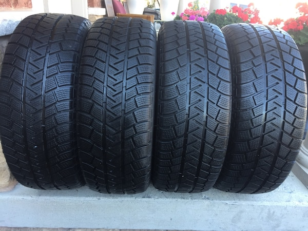 set of 4 winter tires Michelin LATITUDE size 225/55/R18 1522aeed-abc9-4f45-881d-77be39999672
