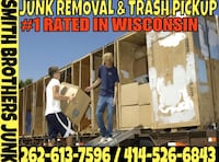 Begin Spring cleaning while stuck at home- SMITH BROTHERS JUNK REMOVAL Pewaukee