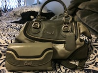 Black and grey coach leather handbag Portland, 97266