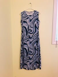Long dress ( stretchable) in excellent condition for only 10$