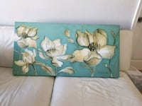 Canvas floral art McLean, 22102