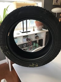 Winter tires  215/55/17 in almost new condition Evergreen