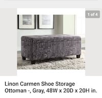 Shoe storage ottoman Mountain View, 94043