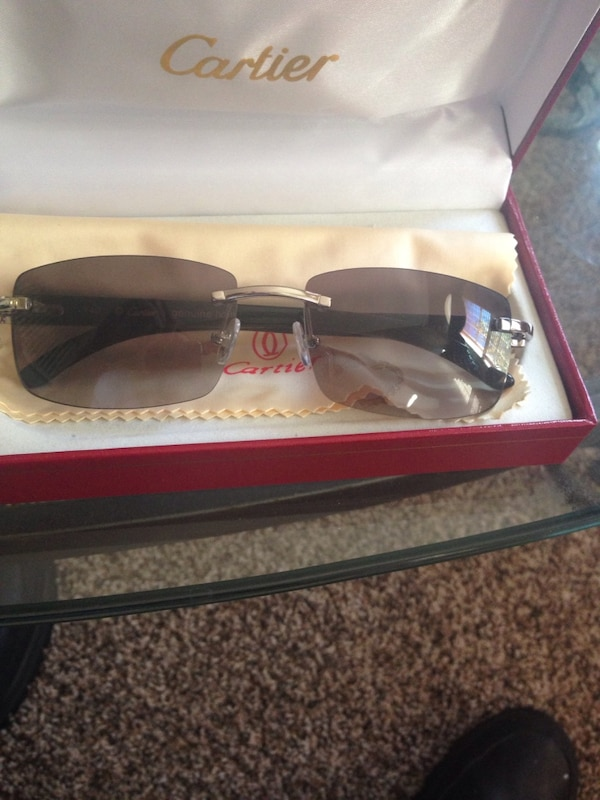 f0d095aa84 Used New school black buffs Cartier glasses for sale in Wixom - letgo