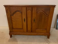 French Provincial Storage Cabinet