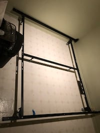 metal bed frame fits king and queen Edmonton, T5W 0E2