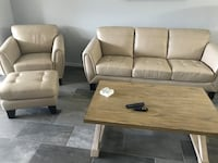 Sofa, chair & ottoman