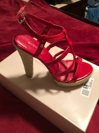 Red shoes.   Size 9. Norwalk, 06850