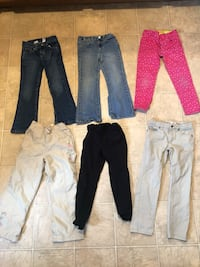 6 girls jeans size 6 Dudley, 01571