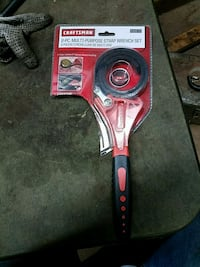 Strap wrench set new