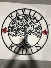 Family roots Canada circle