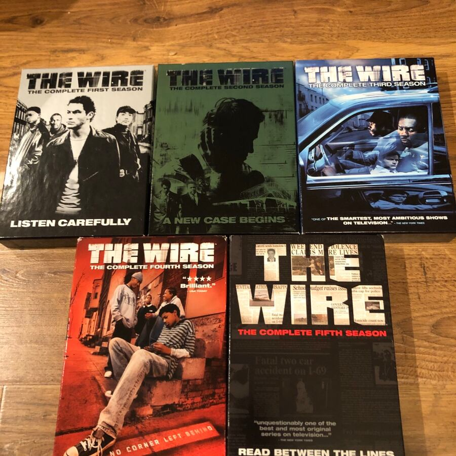The wire seasons 1-5