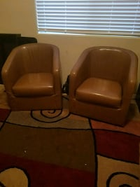 Leather chairs Casa Grande