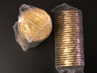 Brand new Canadian Dollar roll of 25 coins Toronto, M6P 1W7