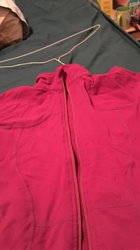 pink full-zip windbreaker Edmonton, T5C