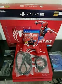New brand spider man ps4 pro 1tb for sale