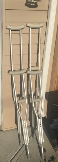 Two sizes set of crutches  Calgary, T3J 3A1