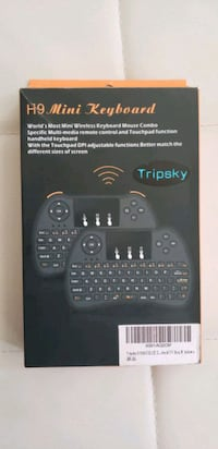 new mini wireless keyboard with rechargeable battery  Toronto, M1G 1H6