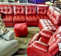 Sectional or Love seat + Sofa or Queen bedroom set Roseville