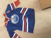Oiler jersey - cheaper to throw this one on ice than official jersey Edmonton, T6J 6S4