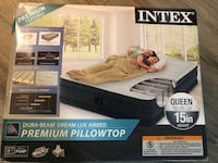 Intex airbed with air pump box Vienna, 22182