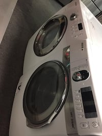 Samsung front load washer dryer set with warranty  Woodbridge, 22192