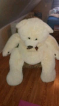 white and brown bear plush toy Windsor, N9A 2L2