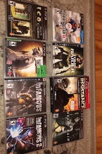 ps3 games Laval, H7W 3N7