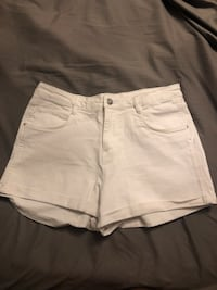 White Zara Denim Shorts Toronto, M9W 4H4