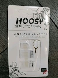 Noosy sim card adapter, brand new  Vancouver