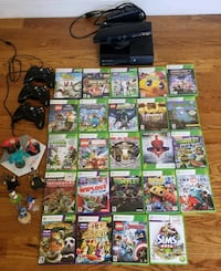 XBOX 360 with Kinect with 24 games, 3 controllers and Disney Infinity New York, 11361