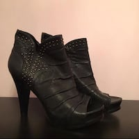 Marc fisher leather boot heels (brand new)  Toronto, M5B 1H3