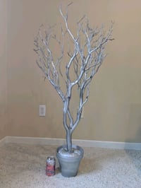 8 silver tree center pieces Twin Cities