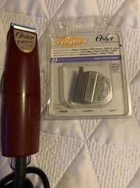 Trimmer with blade
