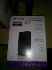 Netgear cm500 high speed modem. Las Vegas, 89101