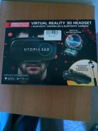 black and gray Utopia 360 VR headset box Gainesville, 20155