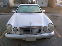 silver Mercedes-Benz car 867 mi